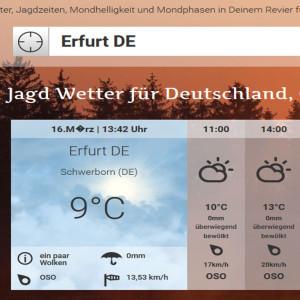 Linktipp: jagdwetter.de